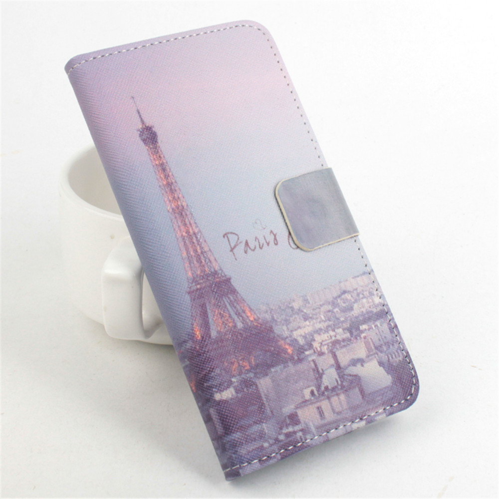Hot Sell Eiffel Tower Butterfly Leather Case for Acer Liquid E700 Wallet Bag with Card Slots & Stand Phone Cover Free shipping(China (Mainland))