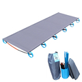HOT Camping Mat Ultralight Sturdy Comfortable Portable Single Folding Camp Bed Cot Sleeping Outdoor With Aluminium