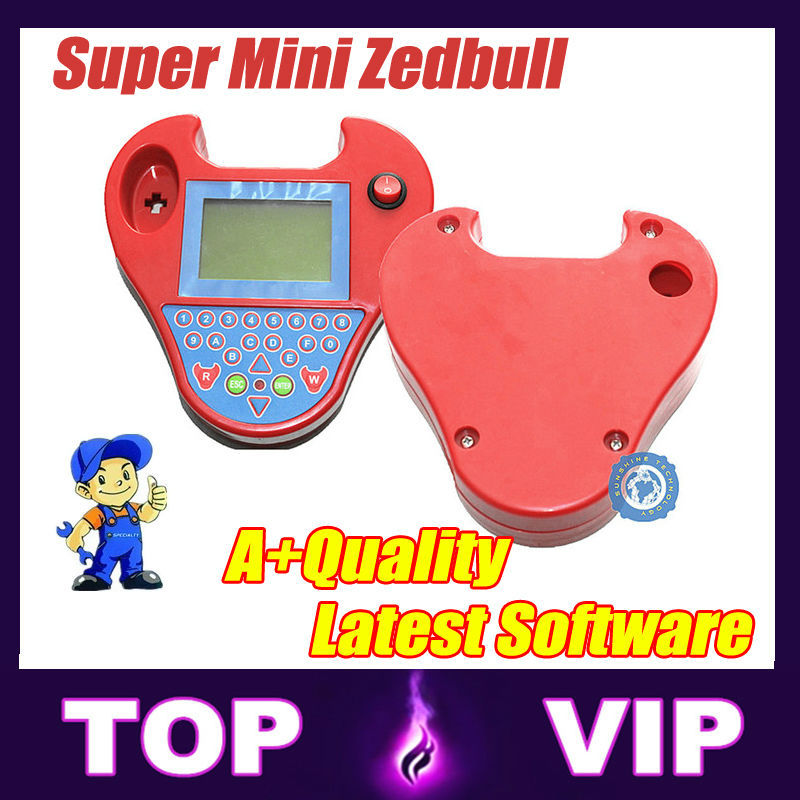 Low price and Free shipping 2015 Hot Sale Smart Zed Bull / Mini Zedbull Key Programmer with high quality free shipping(China (Mainland))