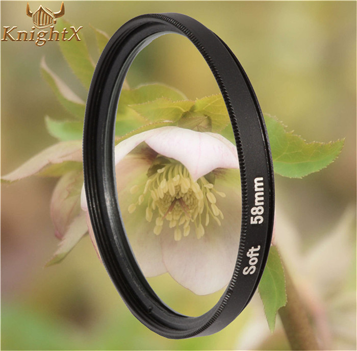 Гаджет  Soft Focus Effect Diffuser Lens Filter For Sony Canon Nikon 52mm 58mm 67mm Lens SLR camera 2015 new KnightX  + tracking number None Бытовая электроника