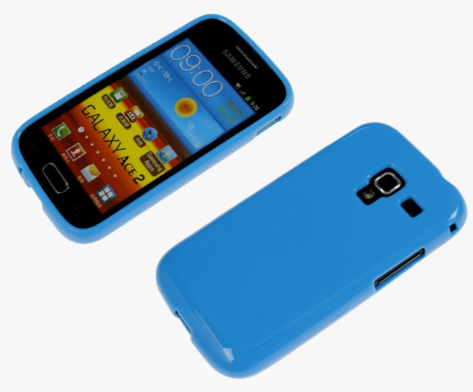 Samsung Galaxy Ace 2 i8160 Silicone Case Soft Gel Crystal Cover - Kindamart Store store