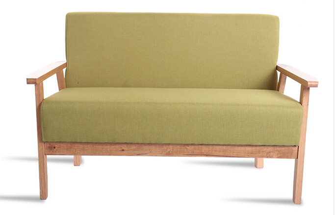 wood chair large sized apartment cloth love seat coffee