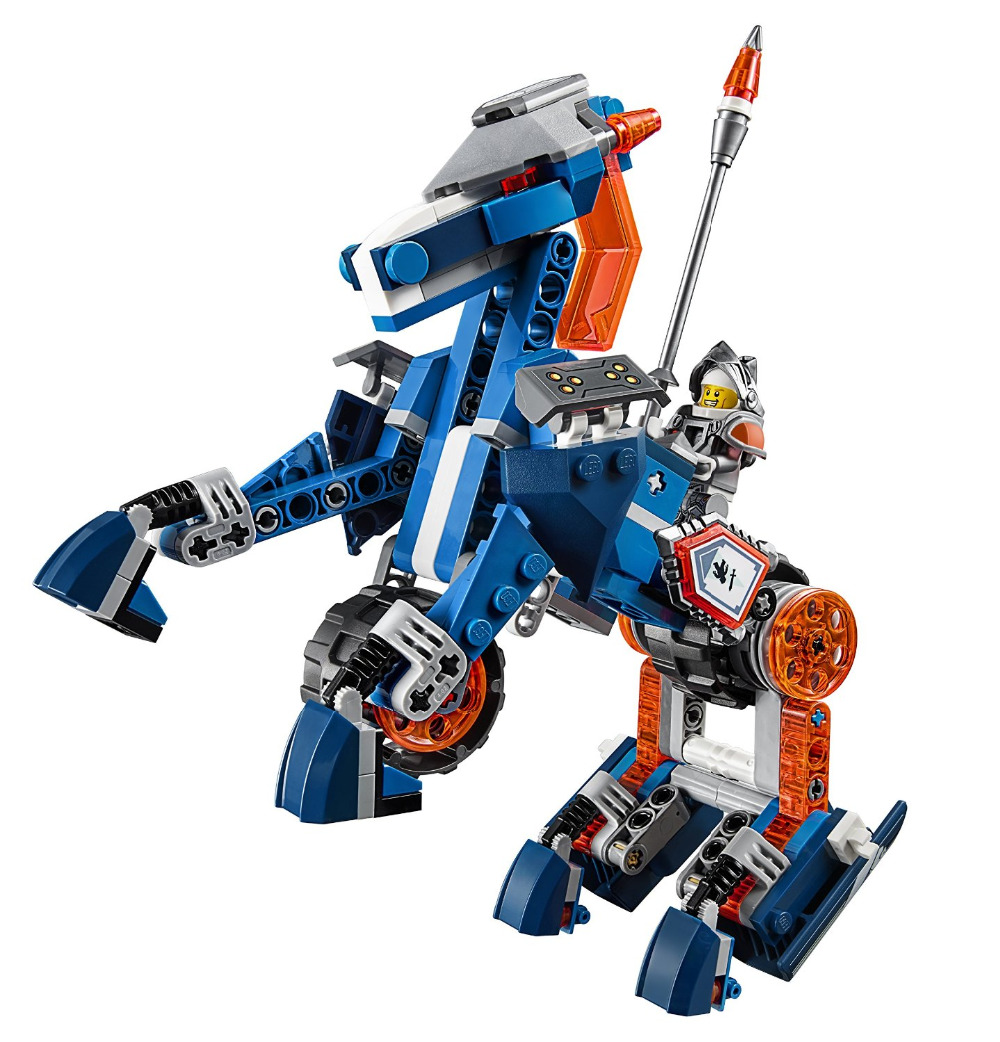 LEPIN Nexo Knights Axl Lance's Mecha Horse Combination Marvel Building Blocks Kits Toys Minifigures Compatible Legoe Nexus  -  CyunSing Trading store