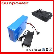free bag  48v lithium ion battery 20ah electric battery for e-bike 48v  Electric Bike Battery  48v 20ah , 30A BMS ,54.6V charger(China (Mainland))