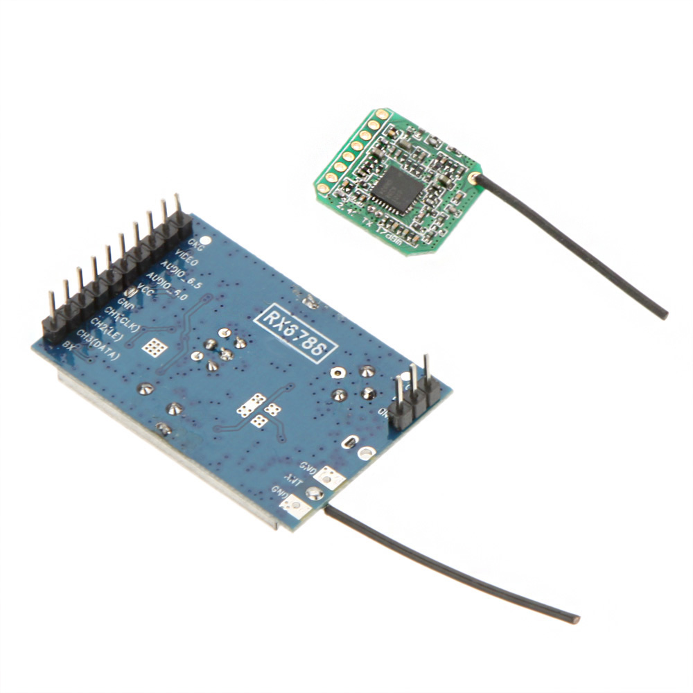 New High Quality RC FPV System 2.4G 600M Wireless Video AV Transmitter and Receiver Module Set(China (Mainland))