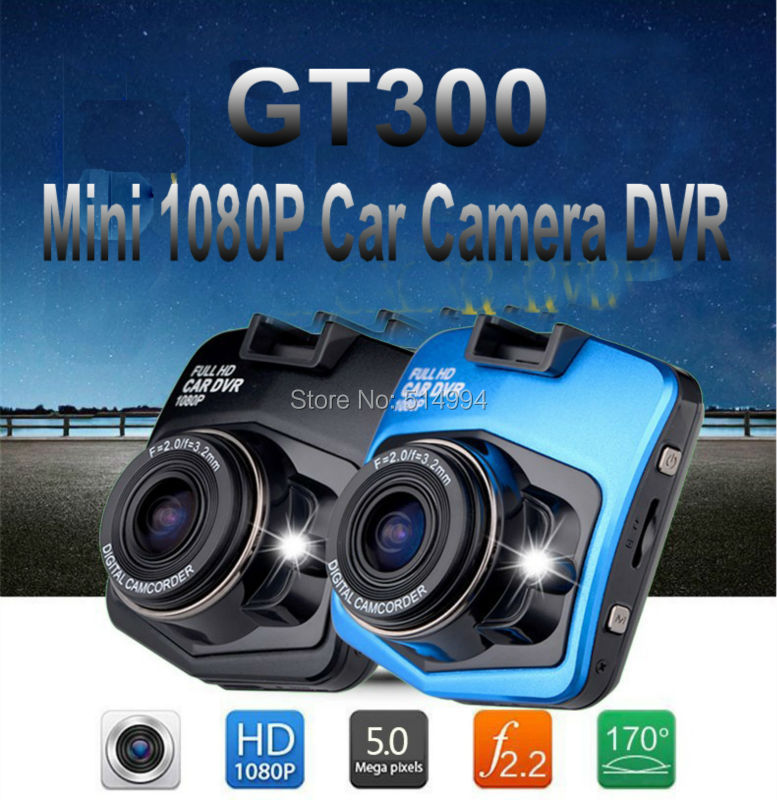 2015 New High Quality Mini Car Camera DVR Parking Recorder Video 1080P Night Vision 170 degree GT300(China (Mainland))