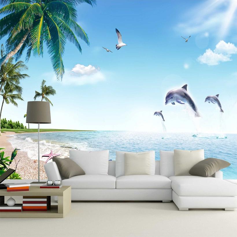Online kopen wholesale hout water sky uit china hout water sky groothandel - Blauwe hemel kamer ...