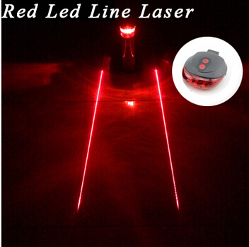 Tail light (5LED+2Laser) Cycling Safety warning Bicycle Rear Lamp Bike Laser Tail bike Light Bicicleta Caution TL0218<br><br>Aliexpress