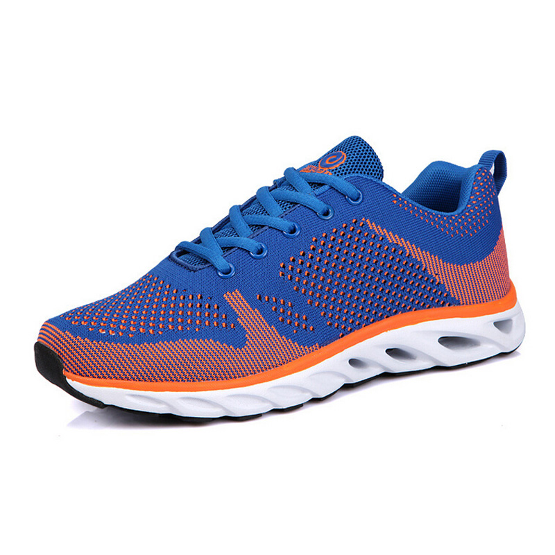 2015 new breathable fabric running shoes men walking outdoor sports shoes spring knitting runner sneakers RS12<br><br>Aliexpress