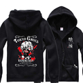 Free shipping Anime Tokyo Ghoul Costume Zip Hoodie Sweatshirt Hooded carton Coat