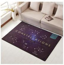 LIU Creative Moon Cycle Sky Modern Minimalist Study Carpet Living Room Sofa Tea Table Mat Bedroom