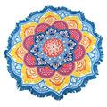 unisex Summer Thin Round Mandala tapestry Hippie Pareo boho Tapestries Wrap shawl Throw Towel blanket Mat