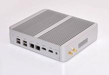 Top GPU Iris HD 6100 Broadwell Intel Core i5 5257u Fanless Gaming Mini PC with 16GB