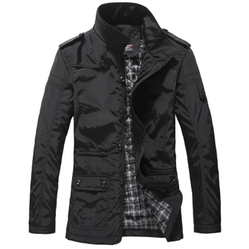 men jacket men's coat fashion clothes hot sale autumn overcoat outwear spring winter Free shipping w