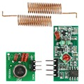 433Mhz RF wireless receiver module transmitter module kit for Arduino 2PCS RF 433MHz Spring Antenna