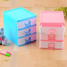 Free shipping mini storage cabinet zenxin chm8760 desktop stationery storage small storage box(China (Mainland))