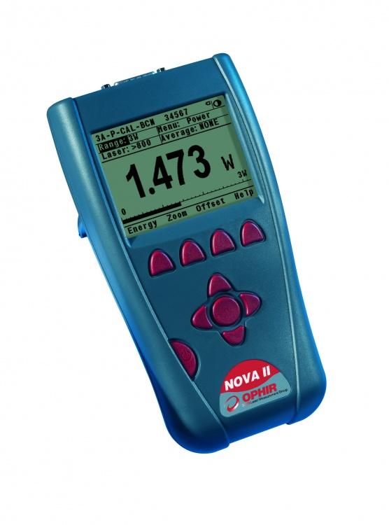 Ophir Power Meter And Power Head : Ophir nova ii laser power energy meter in meters