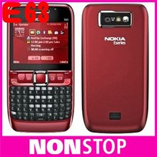 original brand NOKIA E63 cell phones unlocked E63 mobile phones 3G UMTS WIFI Bluetooth mp3 player(China (Mainland))