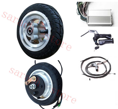 """8"""" 400W 24V drum brake electric scooter motor ,electric wheel hub motor ,motor wheel electric scooter(China (Mainland))"""