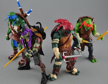2015 New NECA Toy Teenage Mutant Ninja Turtles hasbroeINGlys Action Figure TMNT Model Toys For Boys Juguetes Gift Brinquedos(China (Mainland))