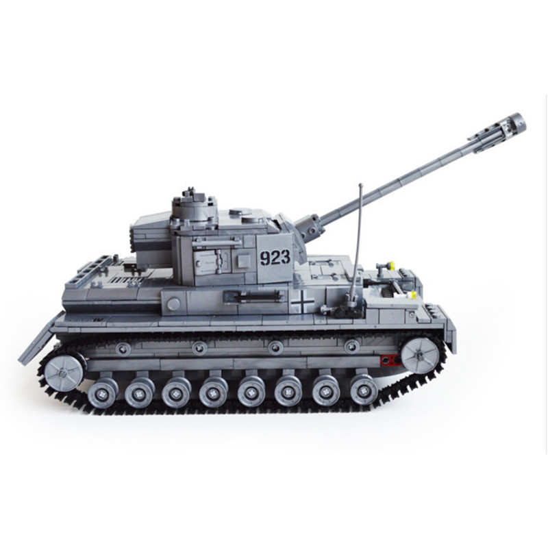 119Tank Large Military Tanks Building Blocks 82010 Toys Children tank Bricks Educational Toy Kids Birthday Gift - eGold Co.,Ltd store