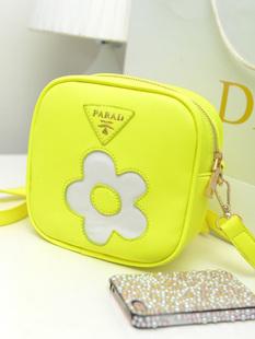 Free shipping new small fresh flower tote bag diagonal packet(China (Mainland))