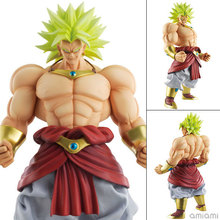 Newest Anime DBZ Dragon Ball Z Super Saiyan MegaHouse DOD Broli 25cm broly Action Figure Collection Model toys Christmas Gift