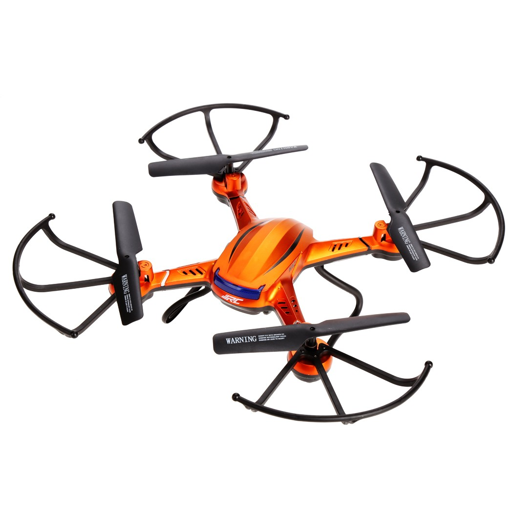 Arshiner JJRC H12C 2.4Ghz 4 CH 6-Axis Gyro RC Quadcopter Drone 5MP Camera No Battery New Orange 66