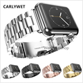 20mm New Stainless Steel Silver WatchBand Bracelets intermediated polished Curved end Parts 2pcs for strap