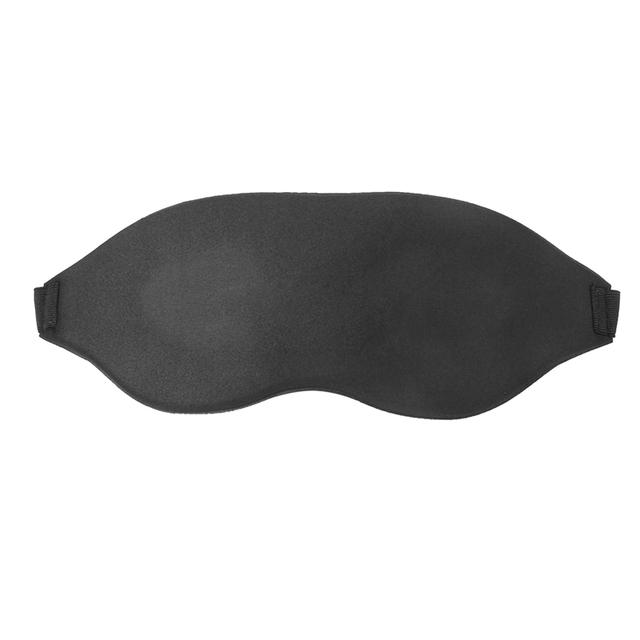 Hot Sale 3D Memory Foam Pad Eyeshade Sleeping Cover Blindfold Travel Office Rest Sleep Eye Mask Shades Soft Sponge free shipping