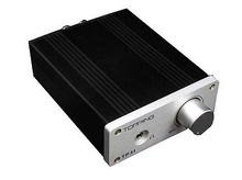NEW TOPPING TP21 TA2021 2*25W Class T Amp Headphone Amplifier+ Power Adapter(China (Mainland))