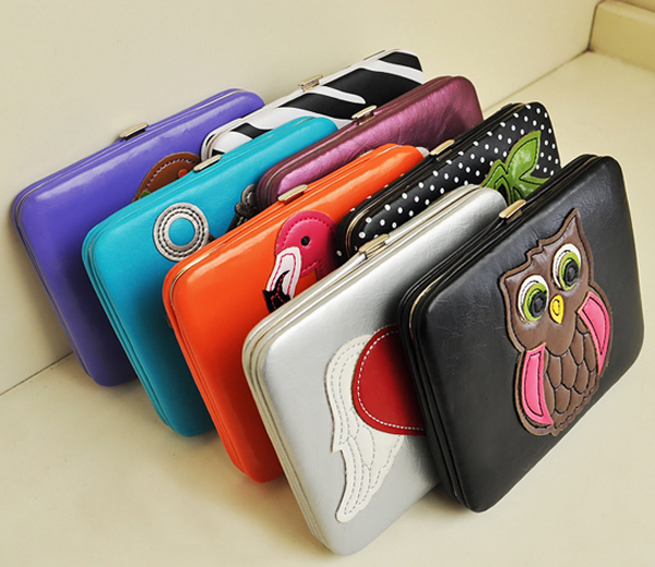 Cartoon exquisite hoaxed cord lock wallet coin case coin purse card holder 160g