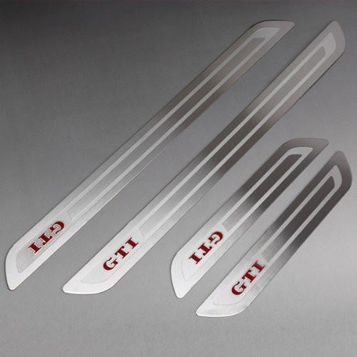 Stainless Steel Door sill scuff plate Guards Sills Trim VW GOLF GTI MK6 MKVI - Sunshine1028 store