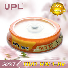 5 pcs Less Than 0.3% Defect Rate Grade A 4.7 GB Blank Printed DVD-RW Disc with Package Wrap(China (Mainland))