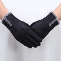 Women Gloves 2016 Thermal Winter Female Wrist Soft Warm Fashion Gloves Mittens Touch Gloves For Women