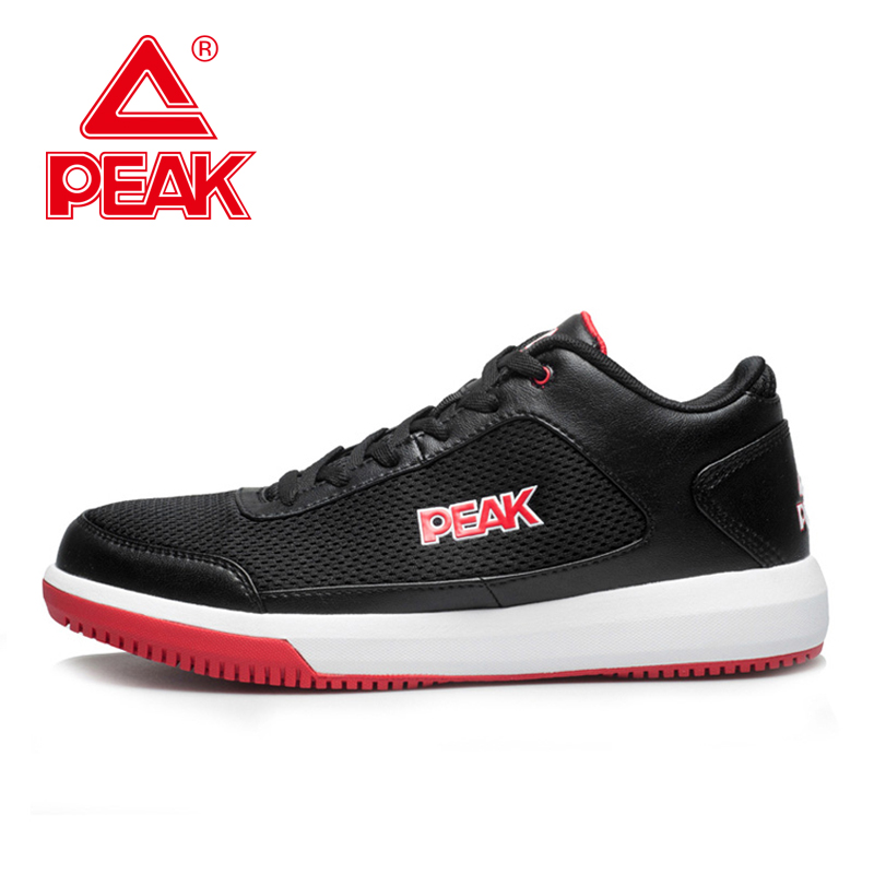 PEAK SPORT Men Basic Basketball Shoes Breathable Comfortable Sneakers Athletic Training Wear-resistant Non-Slip Ankle Boots(China (Mainland))
