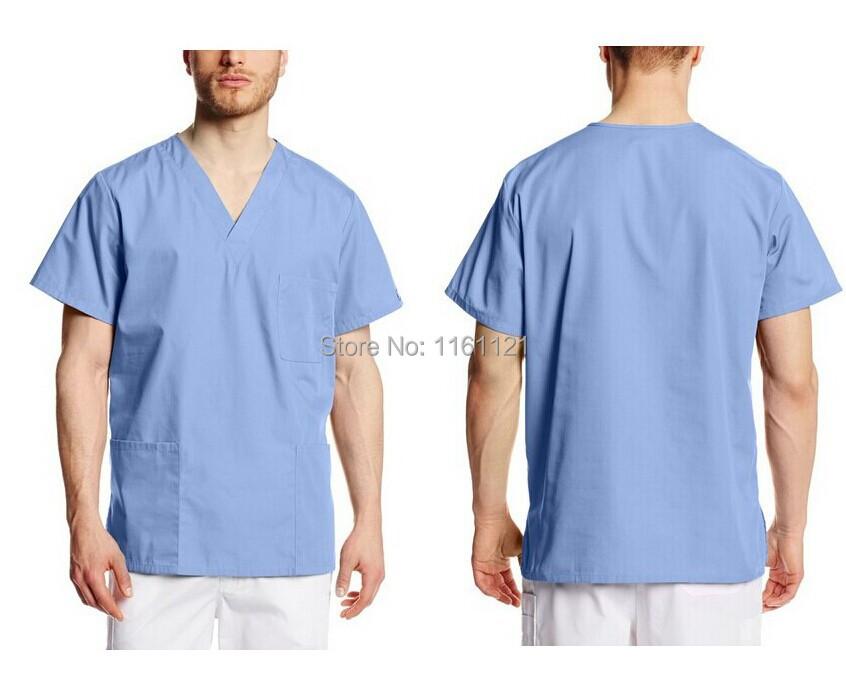 2015 Top Fashion Lab Coat Jalecos Wholesale Men 39 S Hospital Medical Scrub Top Doctor Surgical