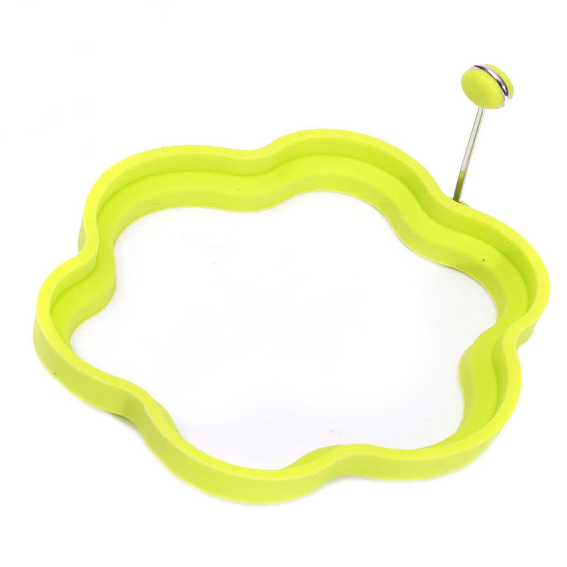 Silicone Egg Ring Shaper Fried Frying Mold Pancake Omelette Poach Cooking Mould Flower(China (Mainland))