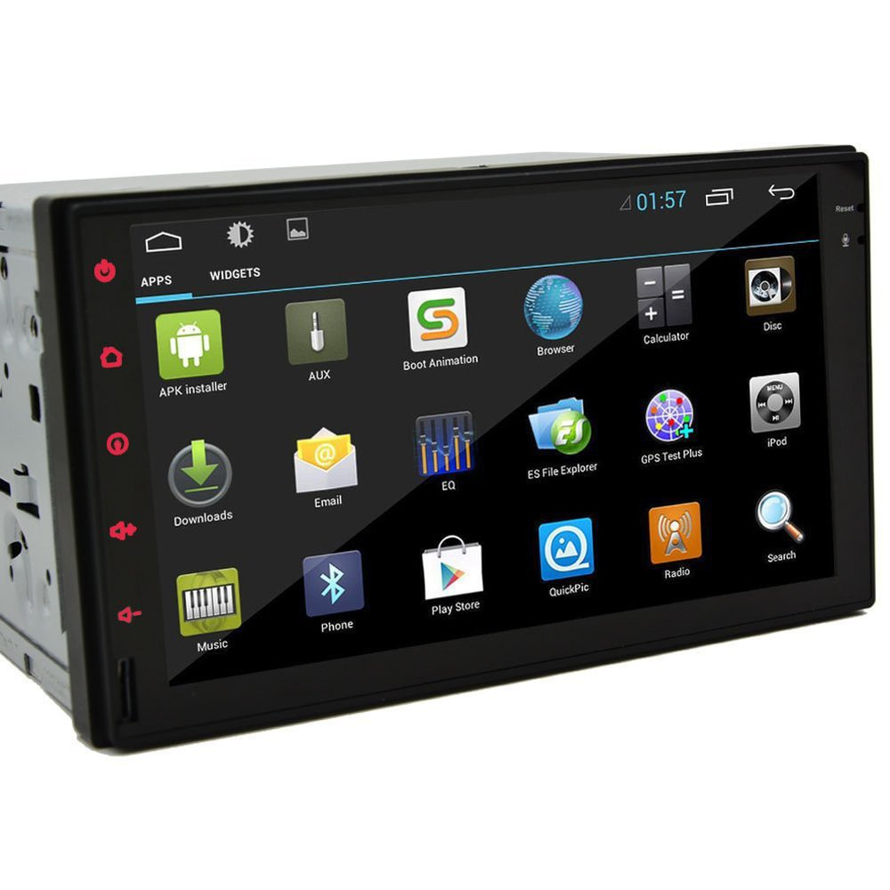 100% Pure Android 4.2 Car PC Audio GPS Navigation 2DIN 7'' HD Car Stereo Radio Bluetooth USB Interchangeable Player+iPod 3G-Wifi(China (Mainland))