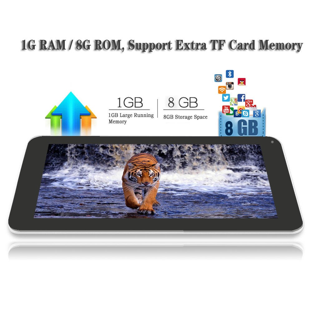 """2016 High-end Tablet iRULU eXpro X1Plus 10.1"""" Tablet PC Android 5.1 Quad Core 8GB ROM Dual Camera 2MP Wifi with keyboard"""