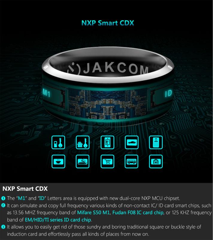 image for 2016 Smart Ring Wear Jakcom R3 R3F Timer2(MJ02) New Technology Magic F