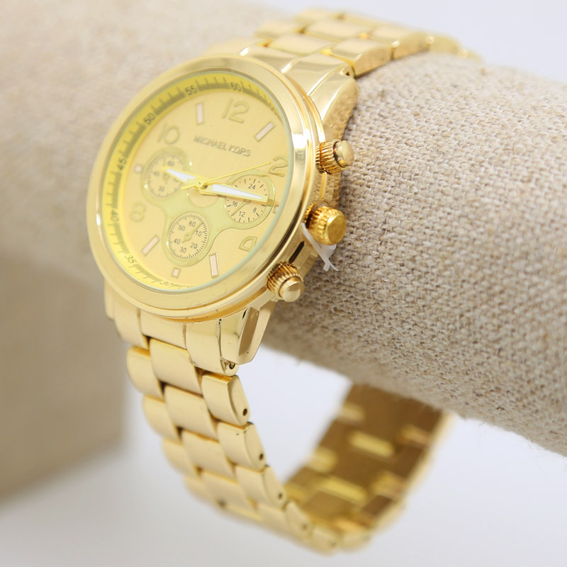 New Hiphop Luxury brand 14K Gold plated Men s Wristwatches Quartz Watchs High Quality Men Watch