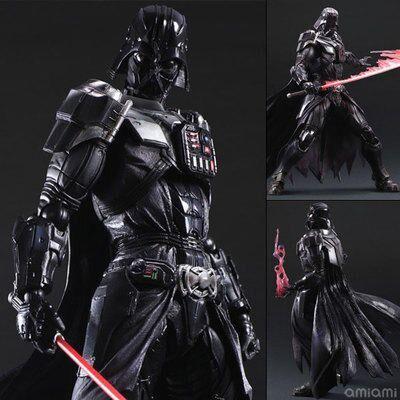 1pcs/set Star WarsDarth Vader Brinquedos Play Arts The Force Awakens  Imperial  Espada BB8 Figures PVC Collectible 26cm  <br><br>Aliexpress