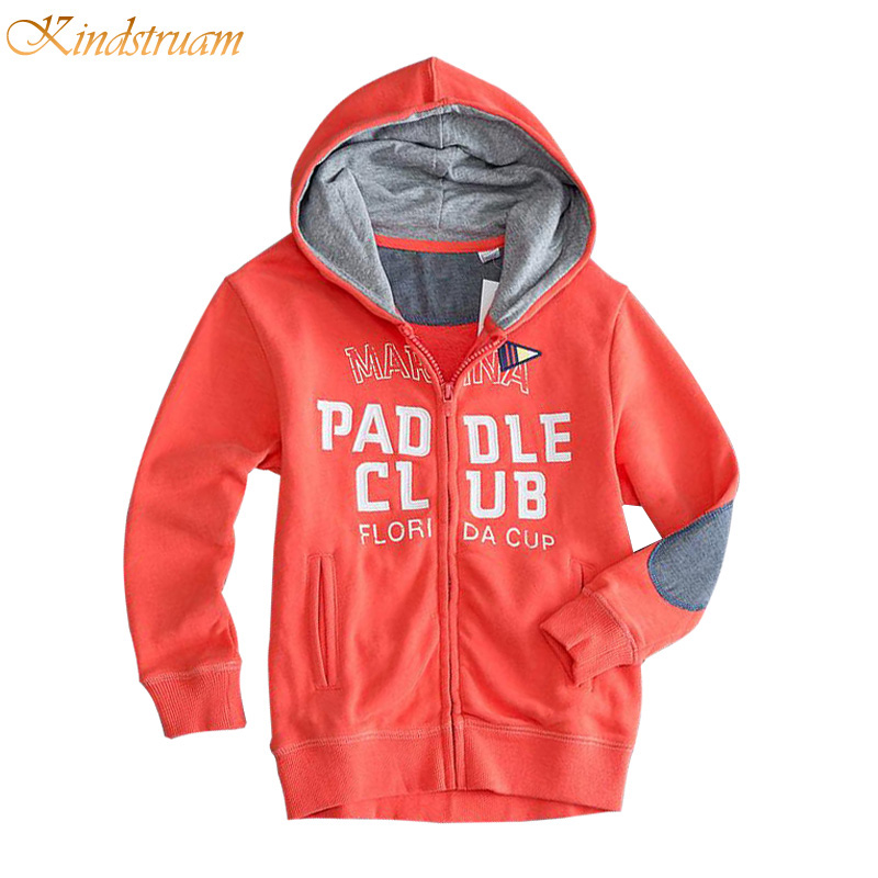 2017 Active Sports Hoodies for Boys & Girls Letter Printed Children Hooded Coats Spring & Fall Kids Brand Outerwear, HC737