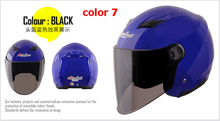 2014 New High Quality Low Price Andes Motorcycle Helmets Open Face Motorcycle Accessories Parts Helmets
