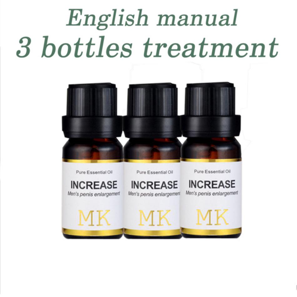3bottles/lot MK Herbal big dick penis enlargement oil increase growth Best Sexual Performance Male Enhancement Erection Enhancer(China (Mainland))
