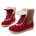 Thick warm winter snow boots 2017 women s casual shoes fashion women flat snow boots