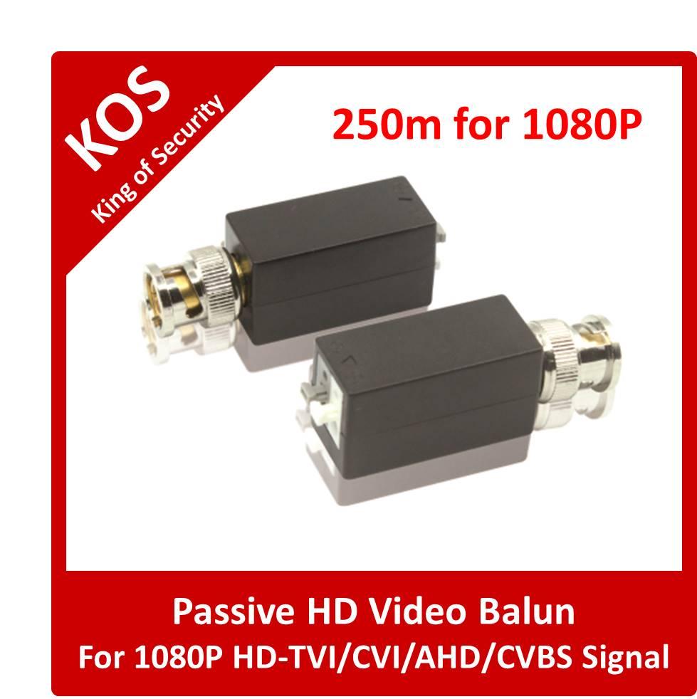 KOSCCTV HD Video Balun BC-HDB101A1 Compatible with HD-TVI/CVI/AHD/CVBS Signal(China (Mainland))