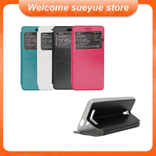 Free Shipping Jiayu S3 Case Flip Stand PU Leather Case Cover For Jiayu S3 Smartphone With Inner Silicon Case For Jiayu S3