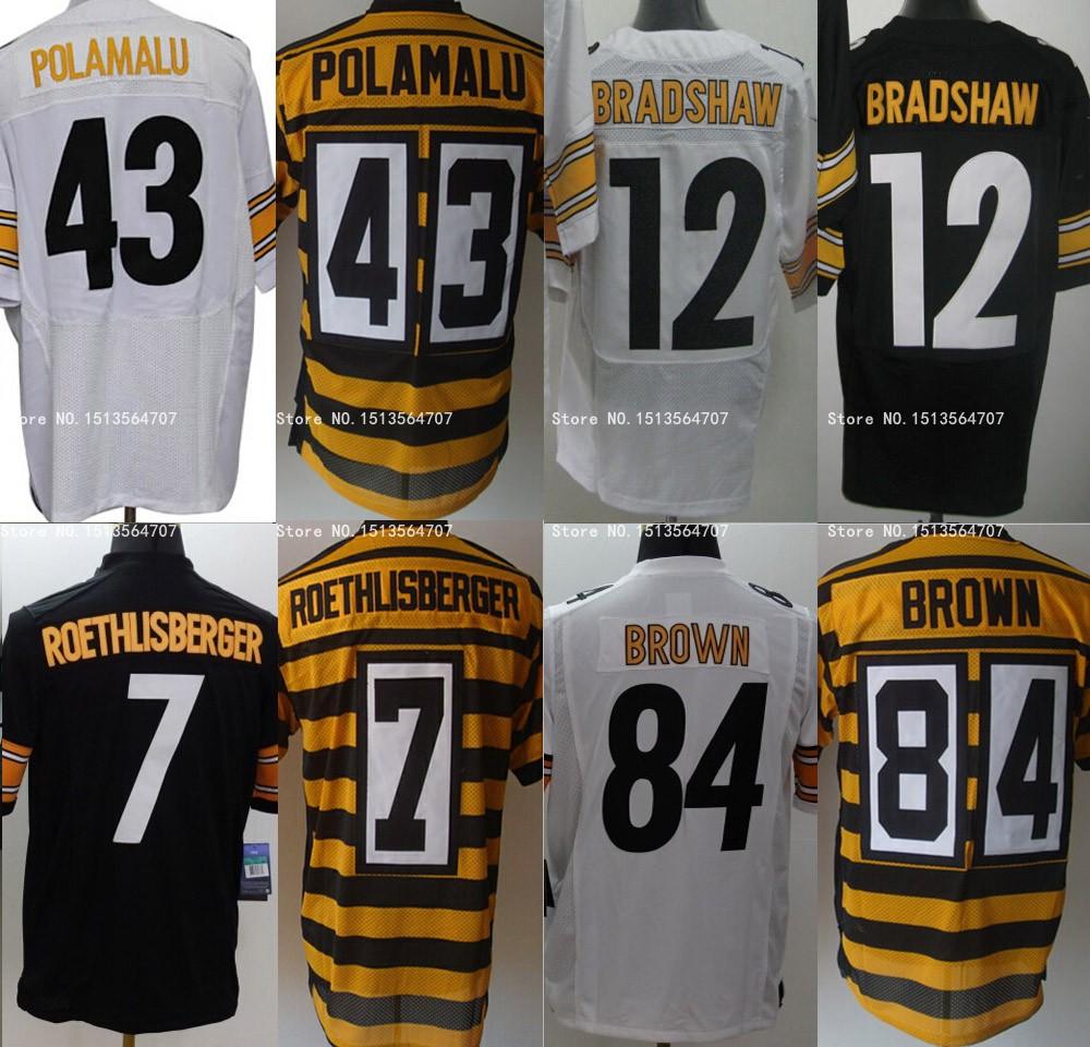 2015 - 16 Steelers # 2 Michael VICK jersey, Murah otentik Pittsburgh pria elit kaus sepak bola ukuran S untuk 4XL(China (Mainland))